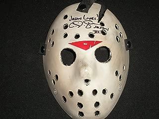 CJ GRAHAM Signed Custom Hockey Mask Jason Voorhees Friday the 13th Part 6
