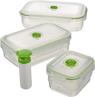 Luxury /& Grace Pack 5 Cubos de Polipropileno Alimentario 21x19cm Reciclables 5 L 100/% Libres de BPA.