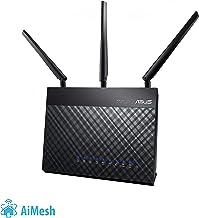 ASUS DSL-AC68U - Router Inalámbrico AC1900 Mbps (Dual-Band VDSL/ADSL 2+, Gigabit, USB 3.0, compatible con Ai Mesh wifi)