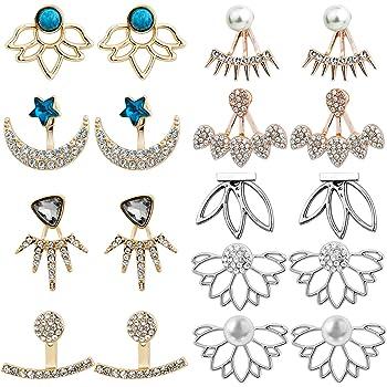 Style punk boucles doreilles pendantes maxi pour femme charme boh/ème d/éclaration m/étal carr/é za boucles doreilles bijoux or rose