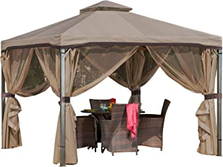 better homes and gardens hardtop grill gazebo