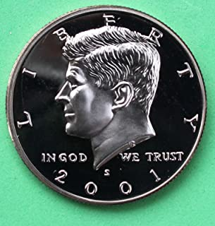 2001 half dollar