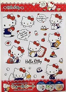 FRIEND Sanrio Hello Kitty Room Wall Decoration Sheet Sticker Switch Accessories