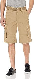 Men's All-Season Belted Ripstop Basic Cargo Short