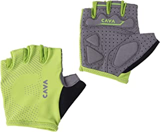 VCACA Sports Short Finger Gloves for Mountain Bike Bicycle,Breathable and Snug fit,for Men and Women