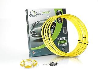 Yellow - AlloyGator Alloy Wheel Protectors | Rim Protectors | Wheel Protectors | Wheel Protection | Alloy Wheel Protection...