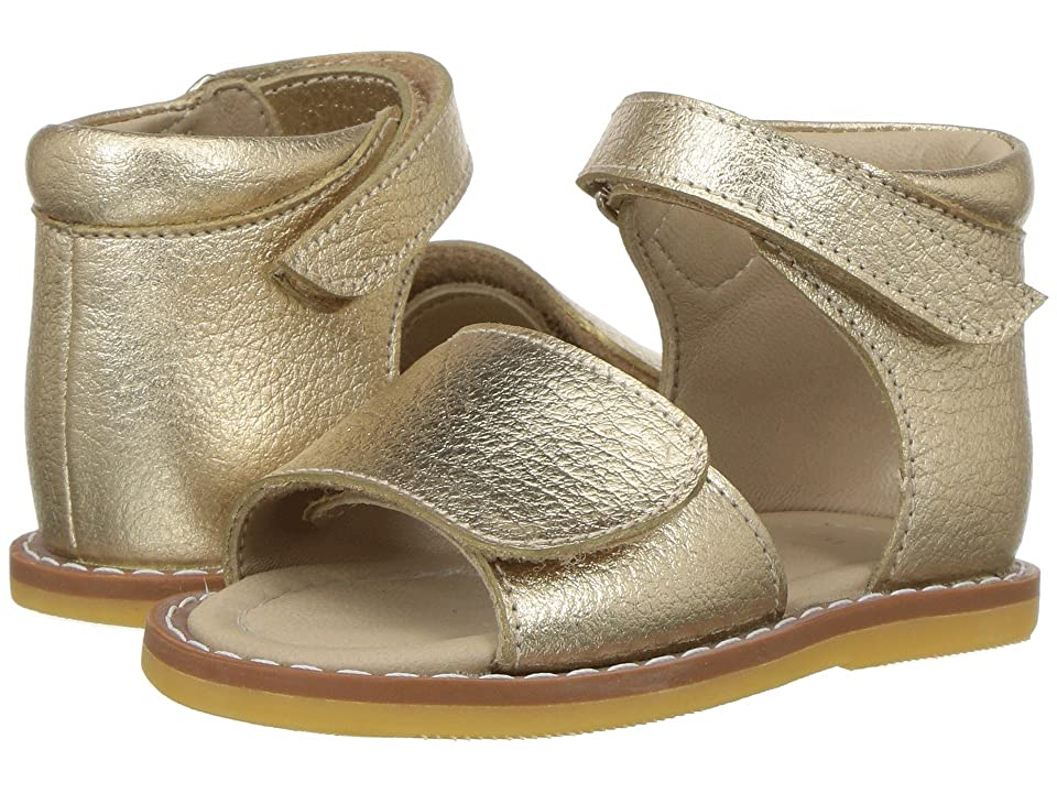 Elephantito Claire Sandal (Toddler) (Gold) Girls Shoes