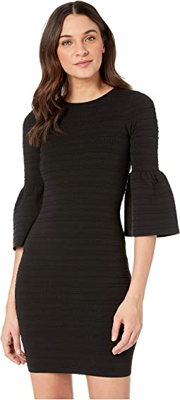 Yansiaa Bell Sleeve Bodycon Dress