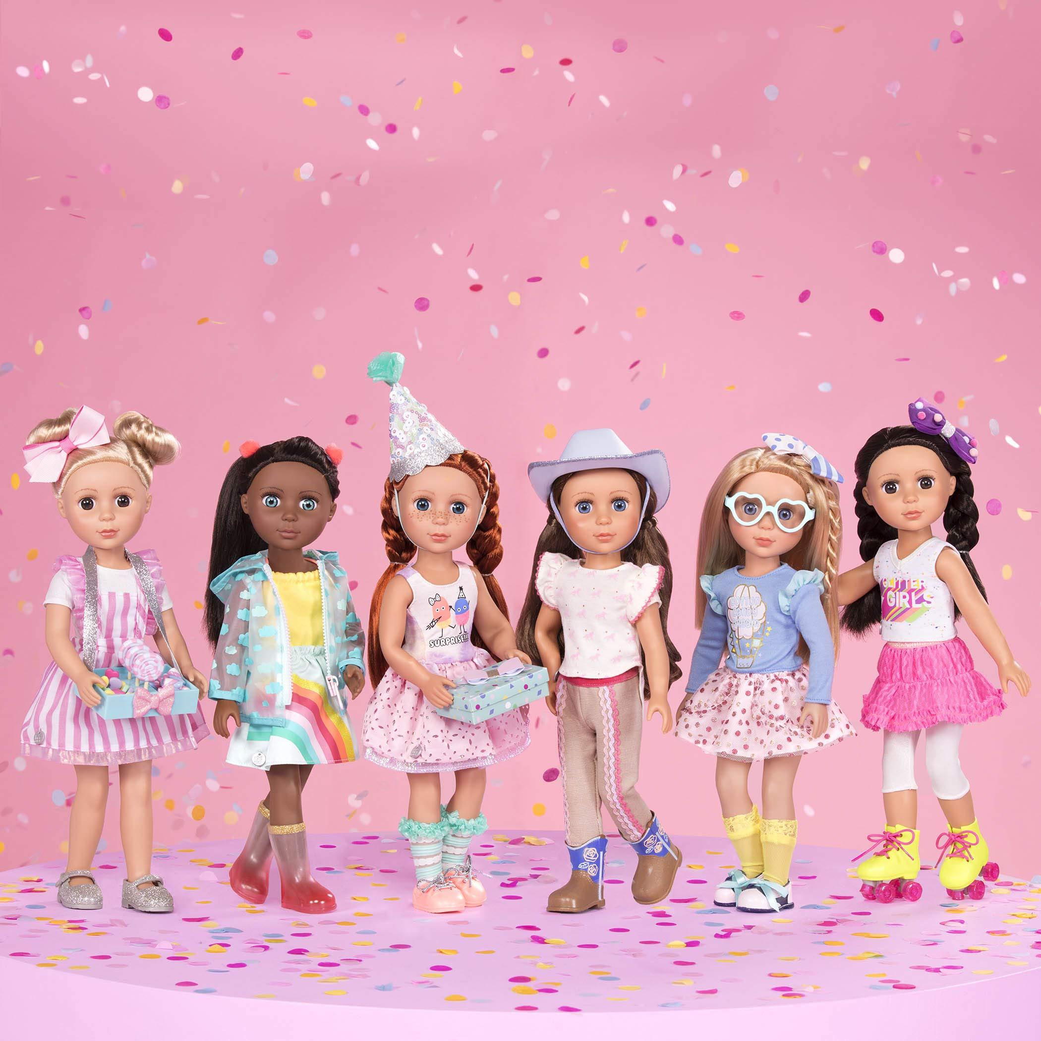 "Glitter Girls Dolls by Battat - Bluebell 14"" Poseable Fashion Doll - Dolls for Girls Age 3 & Up"