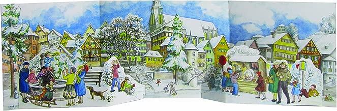 Richard Sellmer Verlag 3-D Winter Village Panorama German Advent Calendar Germany Christmas Countdown