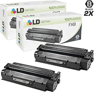 LD Remanufactured Toner Cartridge Replacement for Canon FX8 (Black, 2-Pack)