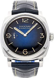 Panerai Radiomir 1940 Mechanical (Hand-Winding) Blue Dial Mens Watch PAM 932 (Certified Pre-Owned)