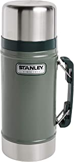 Stanley Classic Legendary Vacuum Insulated Food Jar 24oz – Stainless Steel, Naturally BPA-free Container – Keeps Food/Liqu...