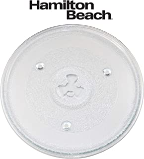 The Exact Replacement Part for Hamilton Beach 10 1/2 Inches Microwave Glass Tray/252100500497/HB-P90D23/HB-P90D23A/HBP90D23