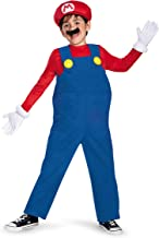 Deluxe Super Mario Bros Mario Costume for Boys