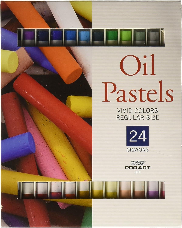 Pro Art PRO-3120 Oil Pastel Set Assorted Jumbo