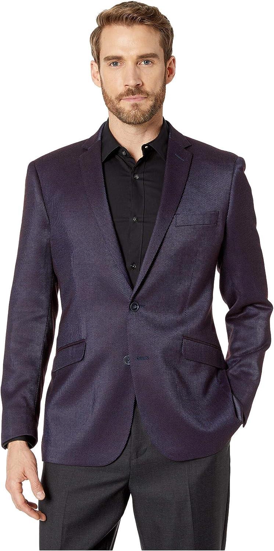 Kenneth Cole REACTION Men's Slim Fit 2 Button Blazers