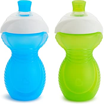 Color May Vary Munchkin 15445 Click Lock 2 Count Sippy Cup