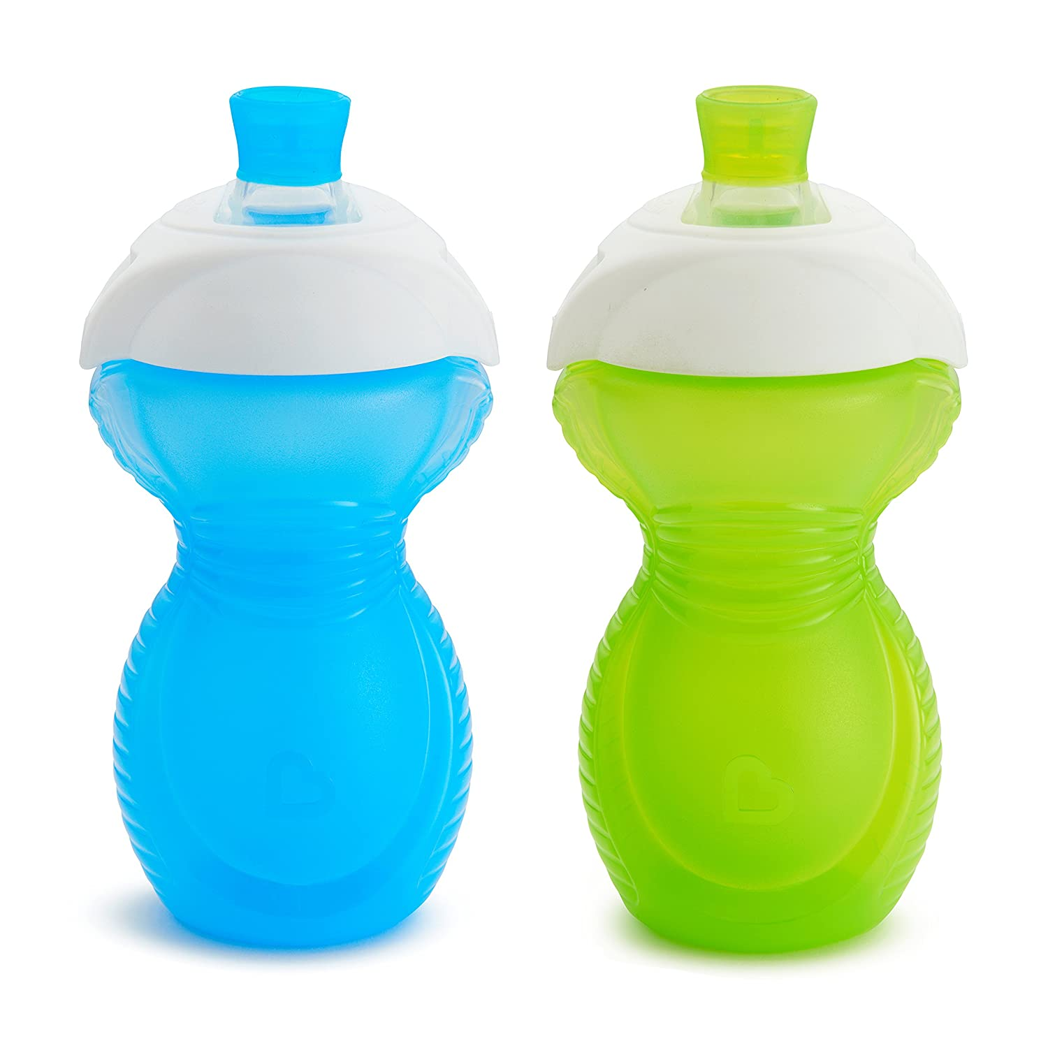 Munchkin Click Lock Bite New York Mall Proof Award-winning store Sippy Ounce 2 Green Blue 9 Cup