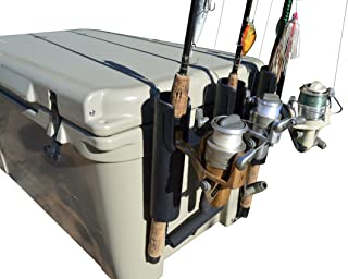 RTIC & YETI Cooler Rod Holder (Works with Casting and Spinning Rods)