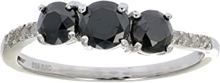 Best black and white diamond twist ring Reviews