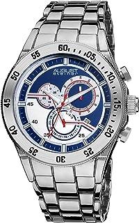 August Steiner Casual Watch Analog Display Chronograph Quartz for Men