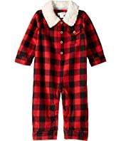 Buffalo Check Long Sleeve One-Piece Playwear (Infant)