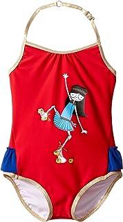 [マークジェイコブス] Little Marc Jacobs レディース Miss Marc One-Piece Swimsuit (Toddler) 水着 [並行輸入品]