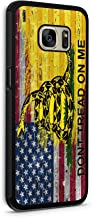 Galaxy s7 American Gadsden Flag Brick Wall Protective Rubber Phone Case Make America Great Again MAGA (Galaxy s7) by 407Case