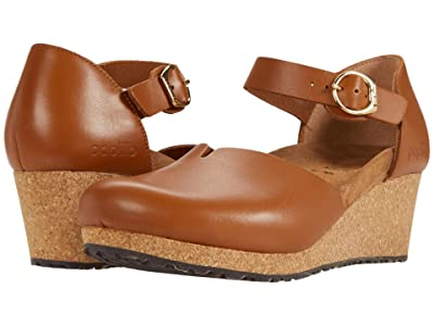 Birkenstock Mary By Papillio (Ginger Brown Leather) Women