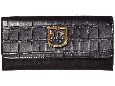 Furla Belvedere XL Bifold (Onyx) Handbags