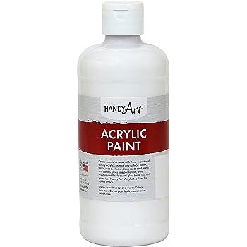 Handy Art Student Acrylic Paint 16 ounce, Titanium White