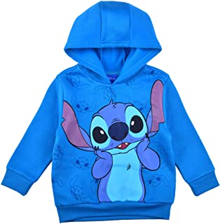 Disney Lilo and Stitch Pullover Hoodie for Boys and Girls, Kid's Hooded Sweater