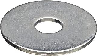 "Clipsandfasteners Inc 100 3//16/"" SAE Flat Washers Zinc Finish 1//2/"" O.D."