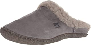 Sorel Women's Nakiska Slide Slipper, Quarry, Chrome Grey, 8.5 B(M) US