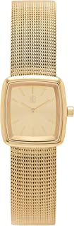 Byron Bond Mark 4 Elegant Women's Small Square Stainless Steel Cocktail Watch
