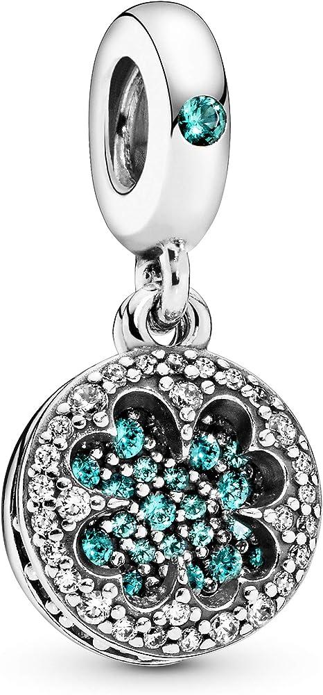 Pandora ciondolo  bead charm donna argento stearling 925 797906NRGMX