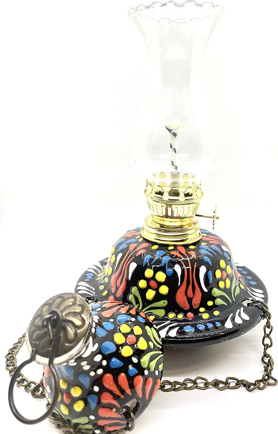 Turkish Style Pendulum Oil Lamp Tabletop D Sales 2021 autumn and winter new for sale Handmade Ceramic