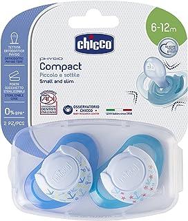 Chicco Physio Compact Silikon Emzik Mavi 6-12 Ay 2Li