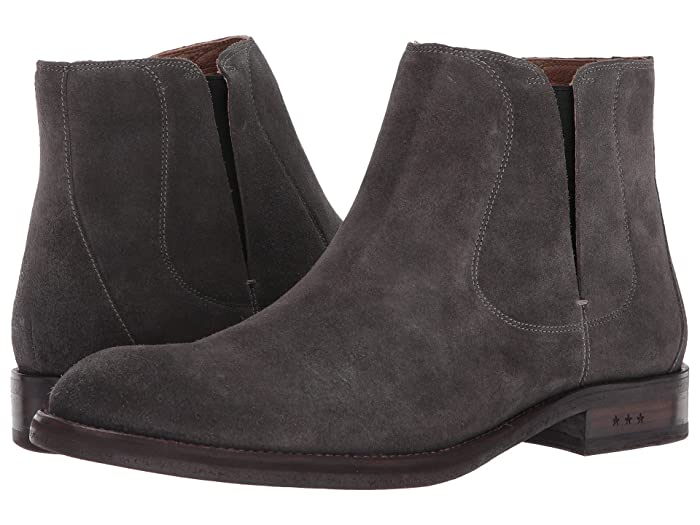 John Varvatos  Waverly Chelsea (Coal) Mens Pull-on Boots