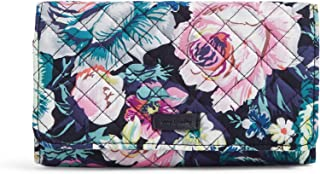 Women's Protection Signature Cotton RFID Trifold Clutch Wallet, Garden Grove, One Size