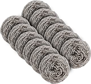 MR.SIGA Stainless Steel Scourer,Pack of 12,30g