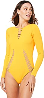 The Bondi Alchemist Women's Long Sleeve ONE Piece Swimsuit, Made from Recycled Fishing Nets