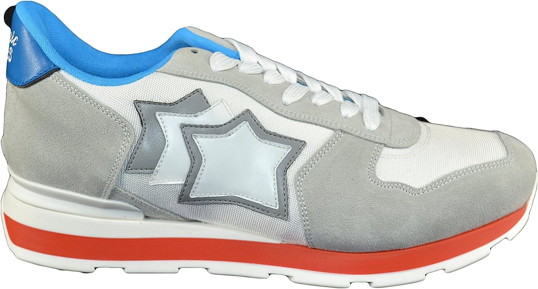 Atlantic Stars Herren Sneaker Weiß Bianca Grigio B079W76G2C    Exquisite Handwerkskunst