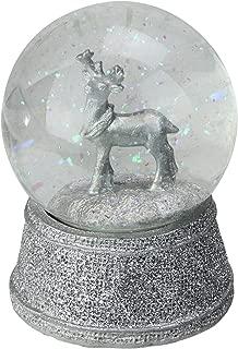 Best silver reindeer snow globe Reviews