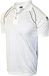 GM 7205 Half Sleeve T-Shirt GCAT5031, XX-Large (White/Navy)