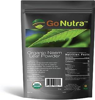 Sponsored Ad - Neem Powder Organic | India Neem Powder 8 oz | Neem Powder for Hair Skin Teeth | Azadirachta Indica