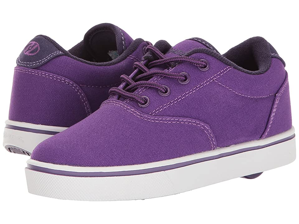 Heelys Launch (Little Kid/Big Kid/Adult) (Purple/Grape/White) Kids Shoes