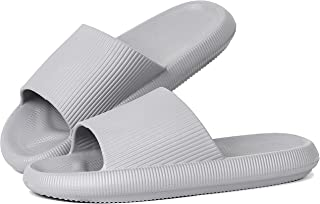 Shower Slipper, Quick Drying Non-Slip Slippers, Bathroom House and Pool Sandals, in-Door Slipper for Gym, Soft Sole