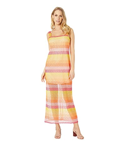 Show Me Your Mumu Harlowe Maxi Dress (Fiesta Sunset Stripe) Women